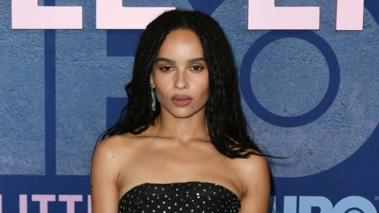 'The Batman': A Lot Of People Touch of My Body During Production – Zoe Kravitz/Photo Credit: Getty Images
