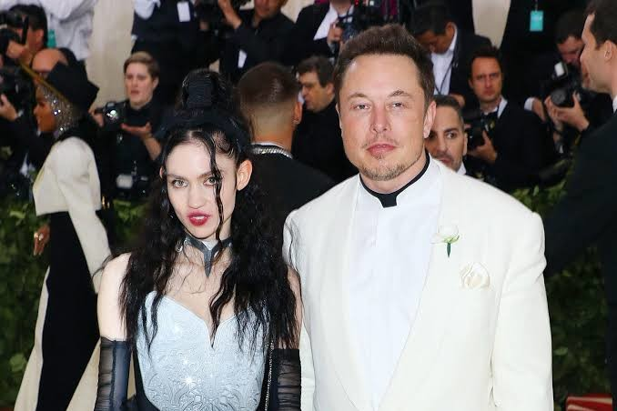 Grimes and Musk