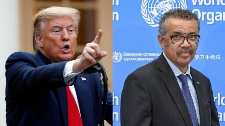 Trump Terminates US Relationship With WHO