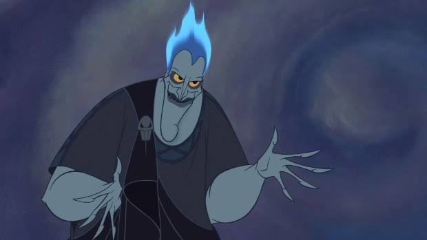 Hades, the antagonist of the film