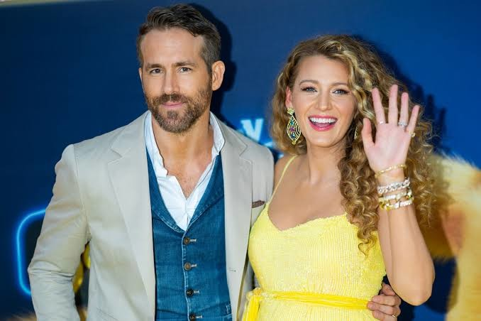 Reynolds and his wife Blake Lively
