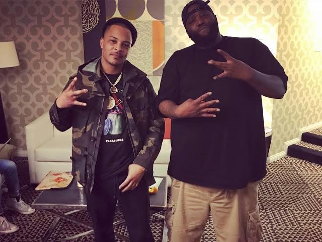 T.I. and Killer Mike also gave out $500 cash to several households