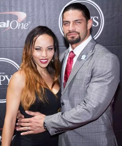 Reigns with his wife