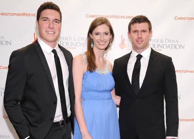 Will with his siblings Alexandra and Matthew