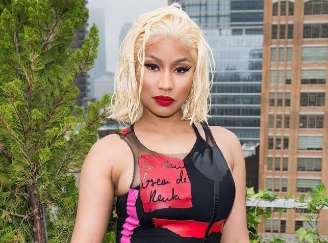 Nicki Minaj has been doing some cooking while staying at home