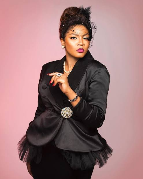 Omotola Jalade-Ekeinde says losing her dad at the age of 12 affected her deeply