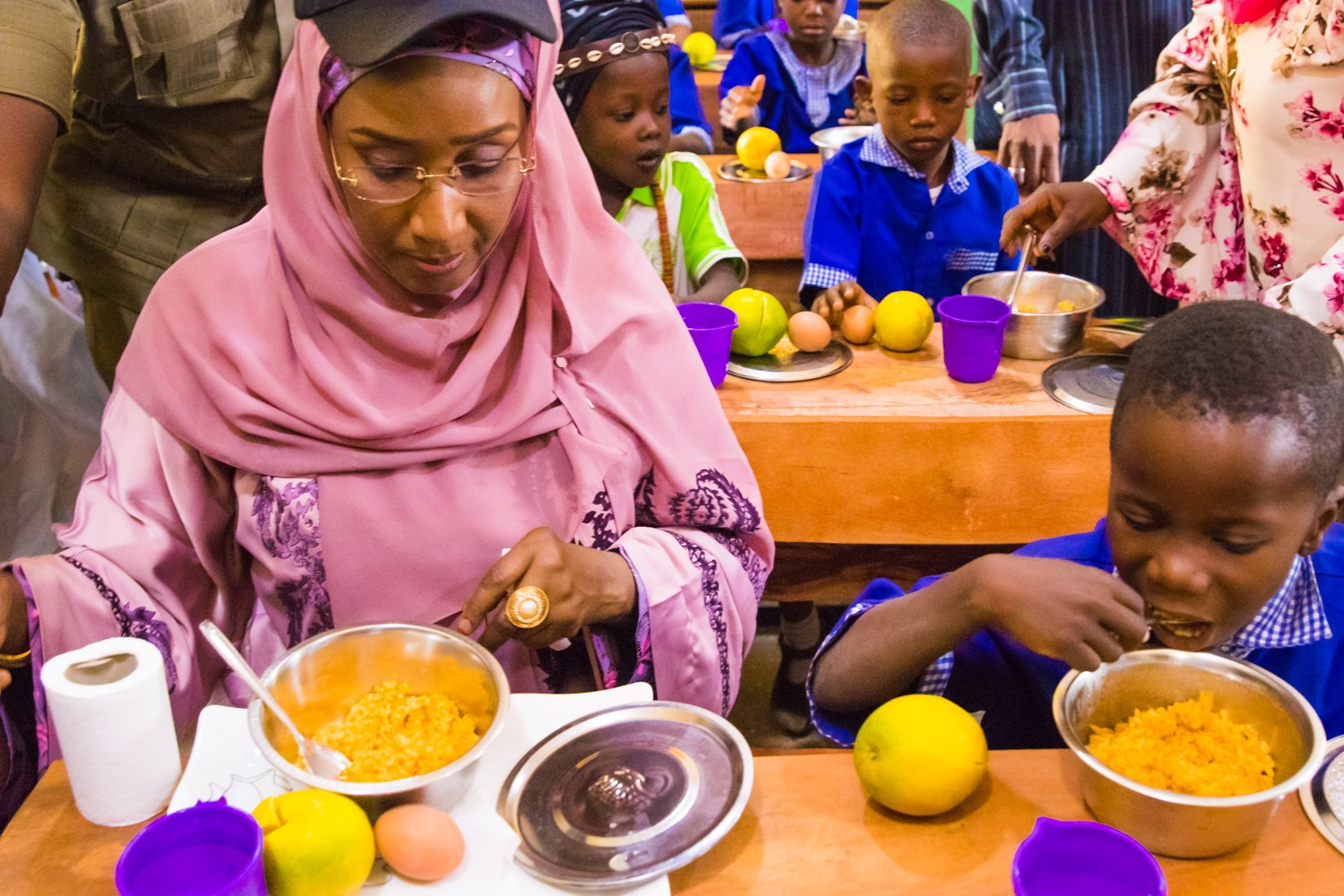 FG Spends ₦679M To Feed School Children Daily