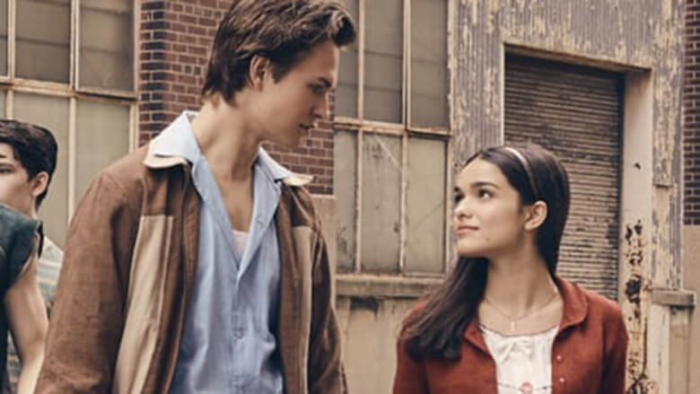 Ansel Elgort and Zegler in WEST SIDE STORY
