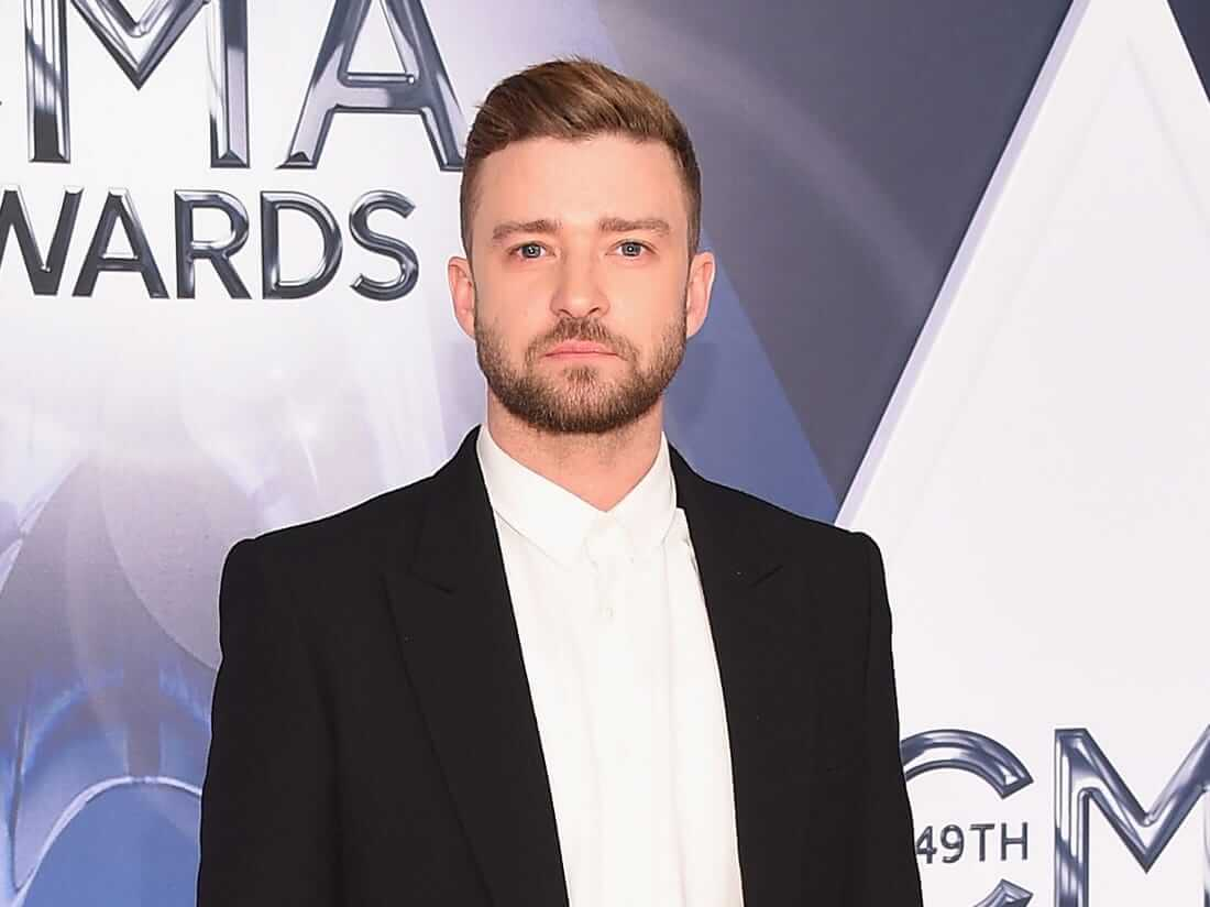 Justin Timberlake also shows support for the Black Lives Matter movement