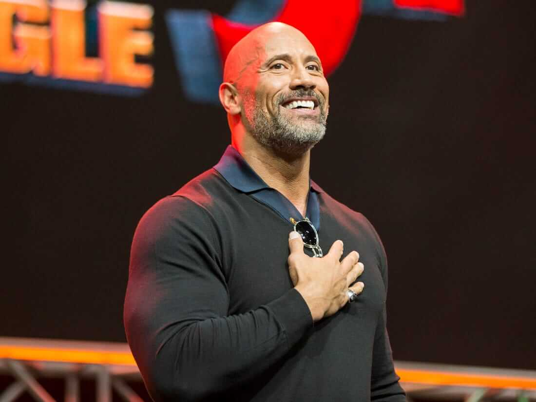 Dwayne Johnson says we must become the leaders we are looking for