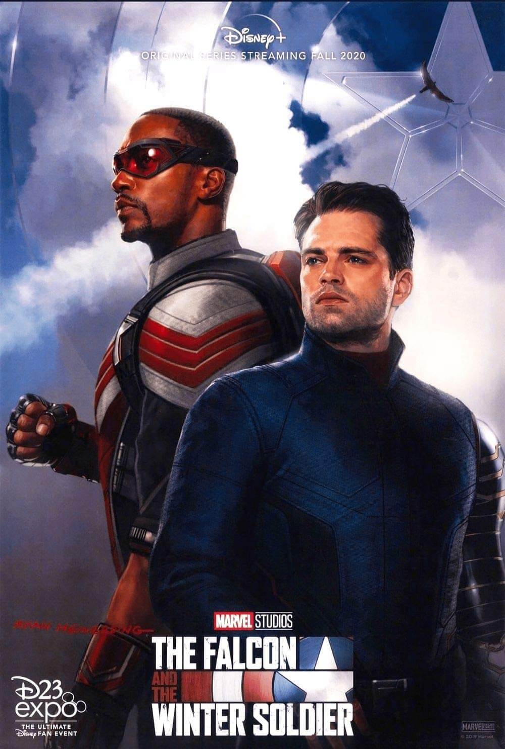The Falcon and the Winter Soldier series