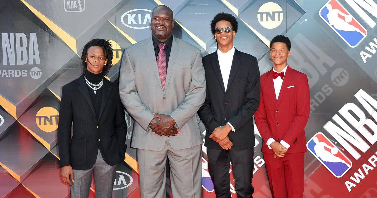 O'Neal and his sons