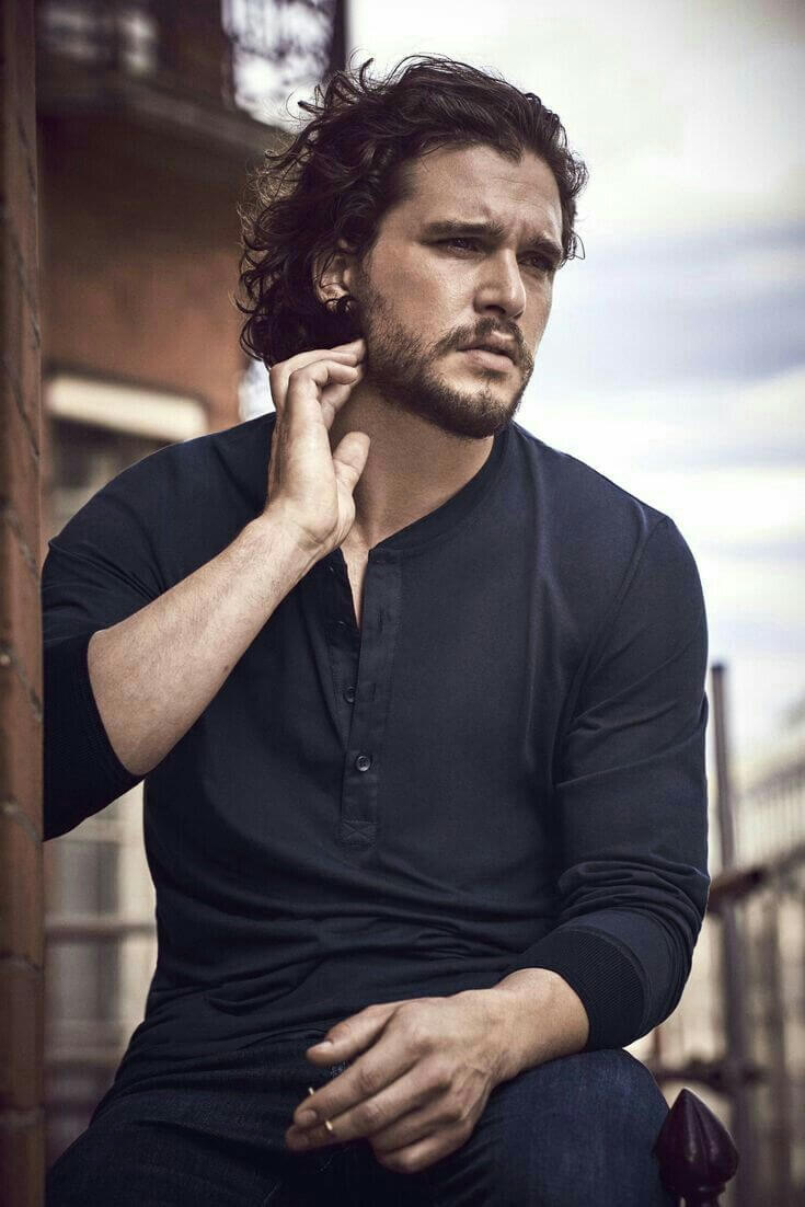 Kit Harington will be seen in the upcoming superhero film, THE ETERNALS