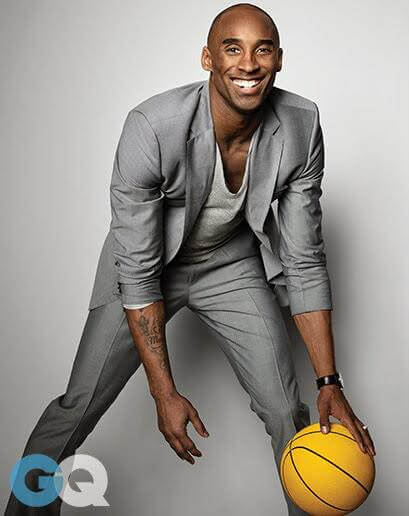 Kobe Bryant was a mentor and youth advocate/Image Credit: GQ Magazine