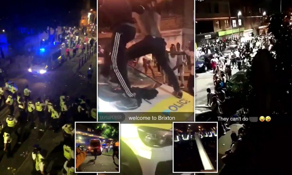 Brixton Party Violence Leaves Over 20 MET Officers Injured