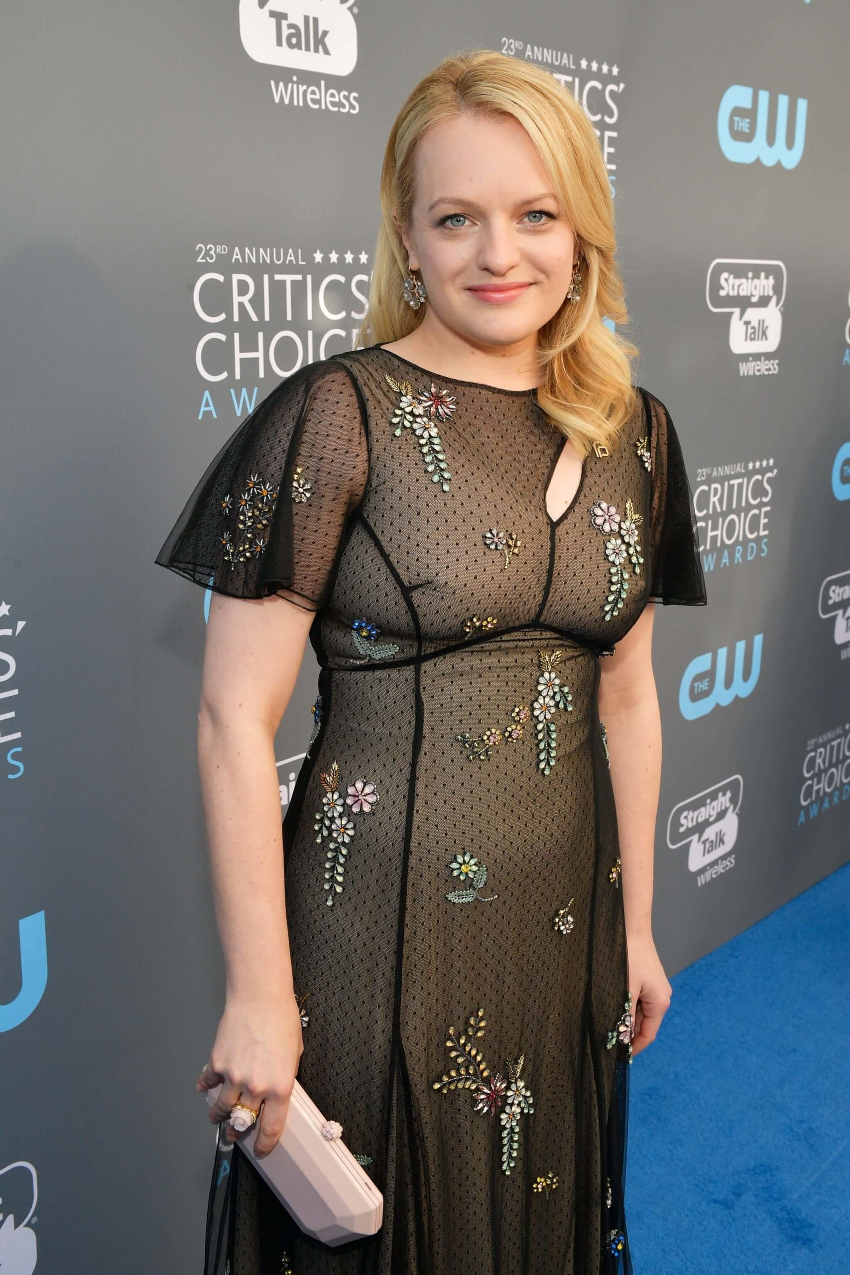 Elizabeth Moss was most recently seen in the film SHIRLEY