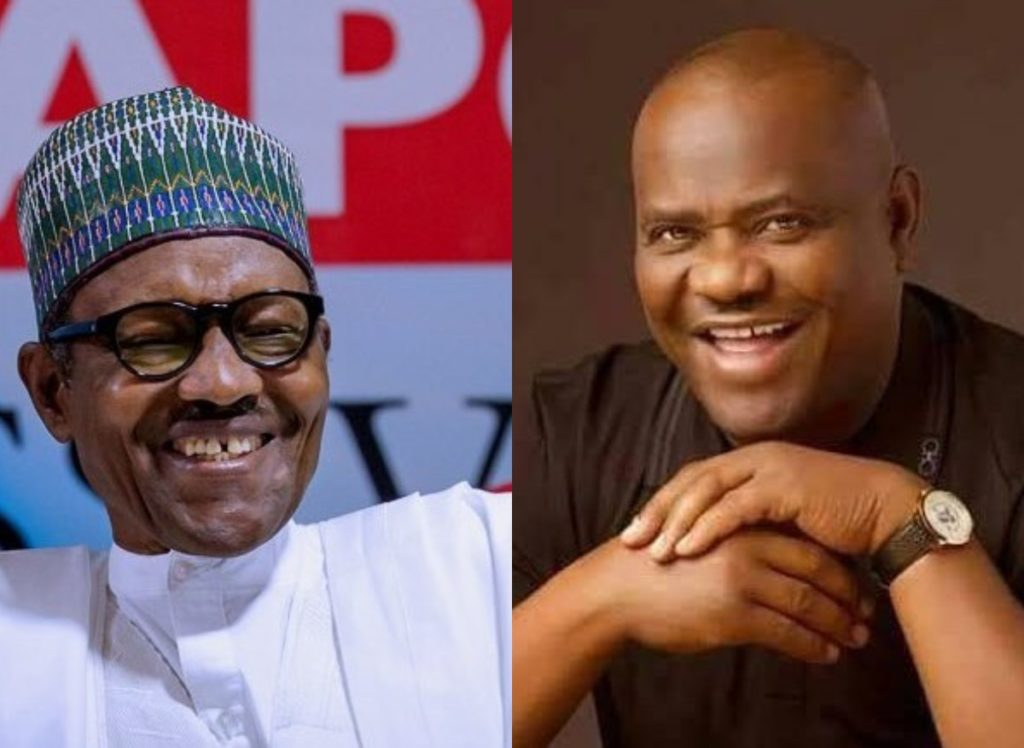"""You Are A President For All Nigerians"" - Nigerians React As Wike Praises Buhari After Receiving N78.9bn"