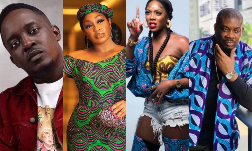 Don Jazzy, Tiwa Savage, Rita Dominic Others React To D'banj's Rape Allegations