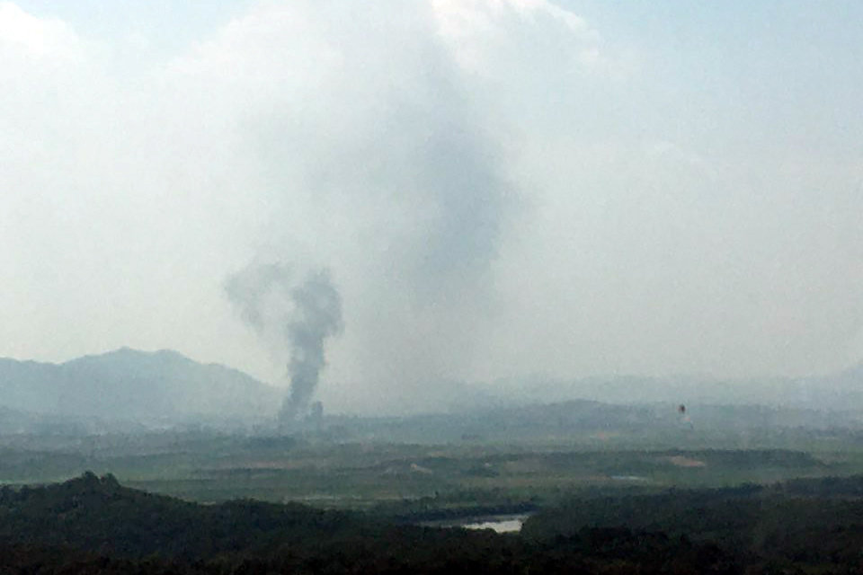 North Korea Blows Up Liaison Office Shared With South Korea