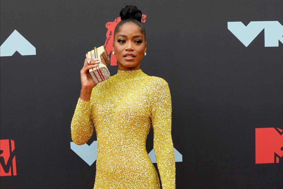 Keke Palmer appeals to the National Guard to join the protest march