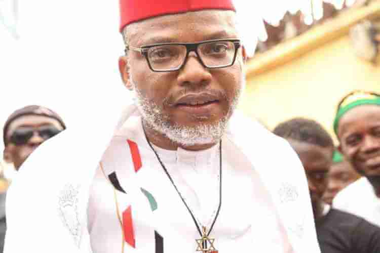 Nnamdi Kanu arrested in Singapore