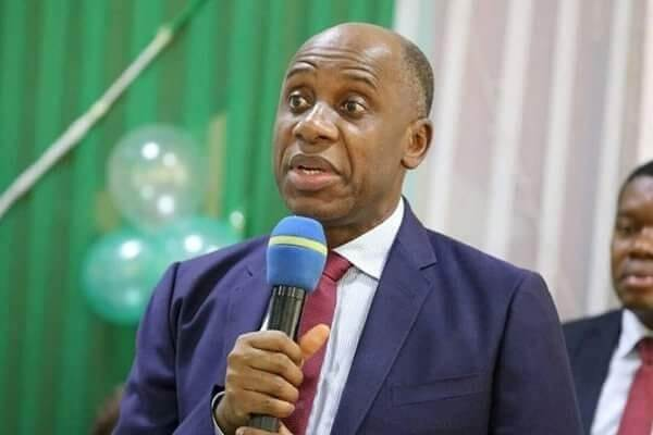 Rotimi Amaechi says he is not helpless but has only chosen to sit back and watch