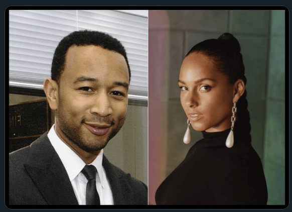#Verzuz John Legend & Alicia Keys 'Share Love' On Live Video