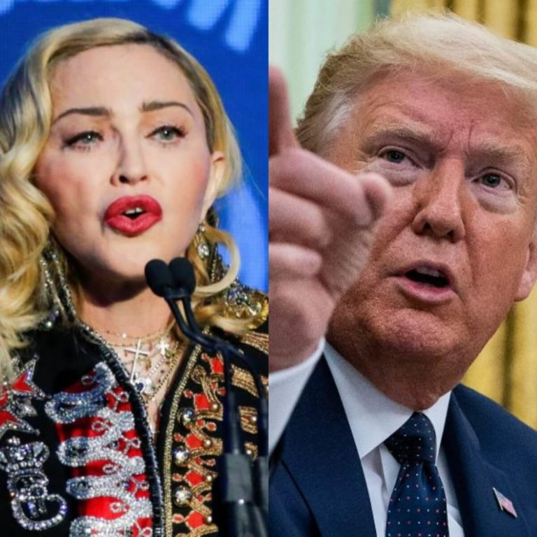 President Trump Is A White Supremacist, Let's Vote Him Out – Madonna