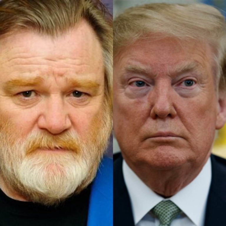 Actor Brendan Gleeson Is Donald Trump In 'The Comey Rule'