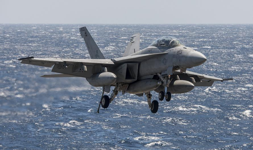 Pilot Missing As US Military Jet Crashes Into Sea