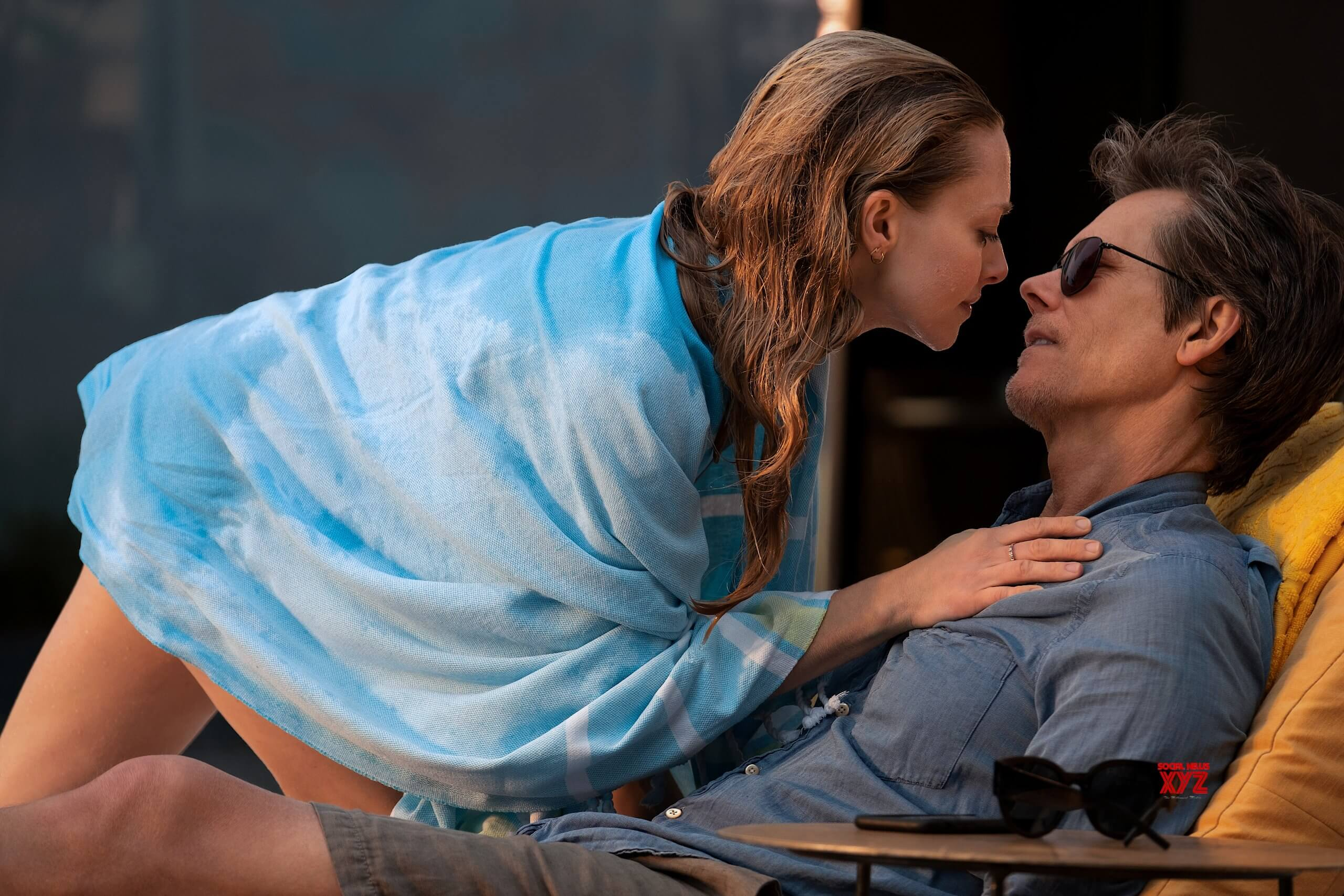 Amanda Seyfried and Kevin Bacon in YOU SHOULD HAVE LEFT