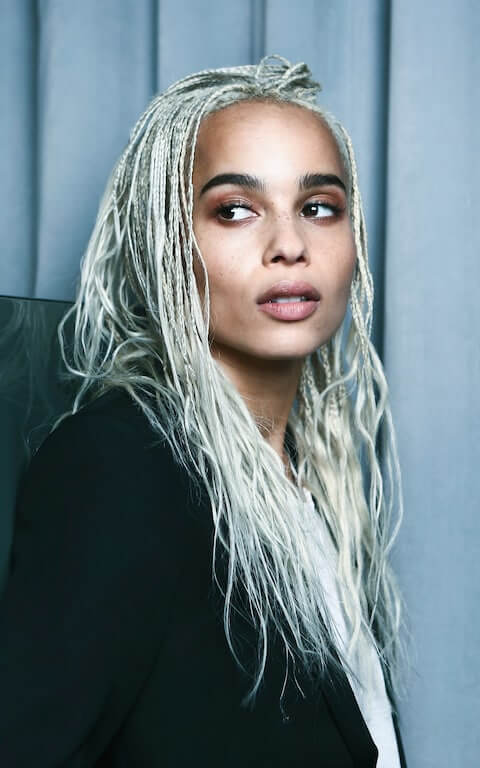 Zoe Kravitz plays Selina Kyle/Catwoman in THE BATMAN
