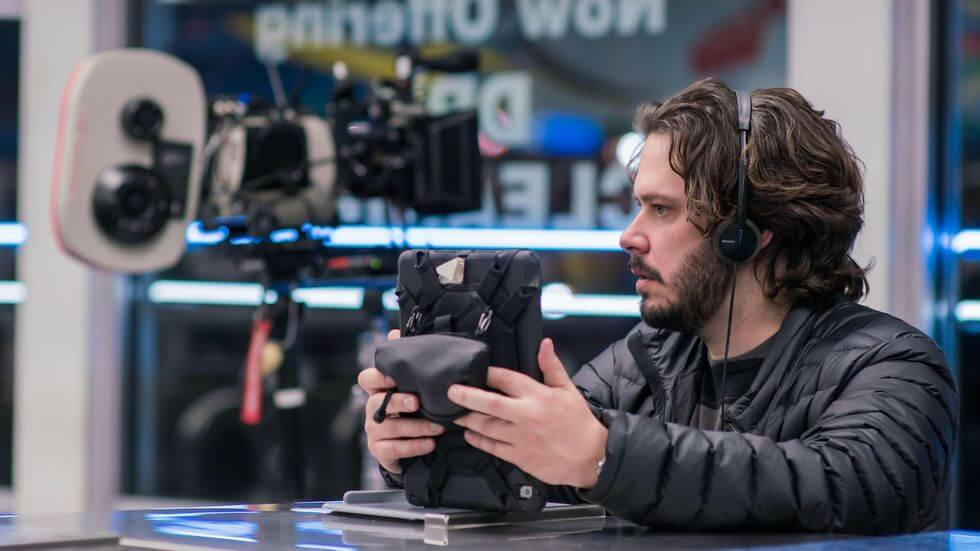 Wright on directorial duties for BABY DRIVER