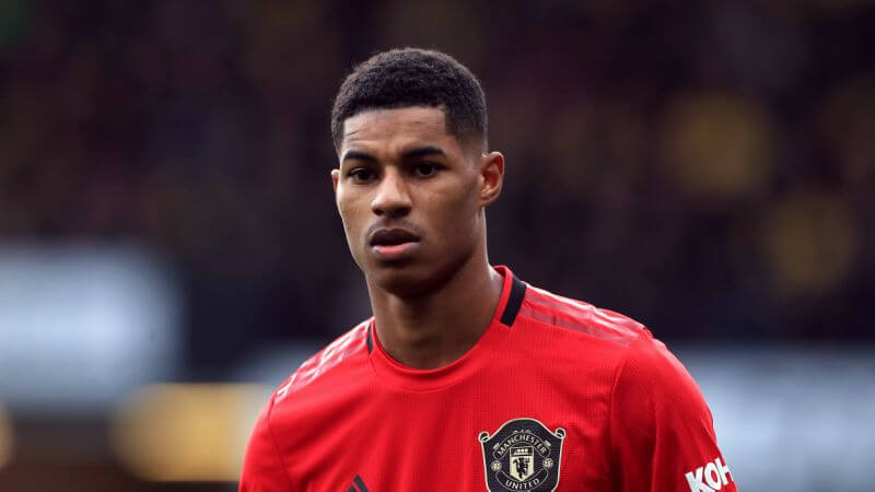 Marcus Rashford says the world appears to be more divided now