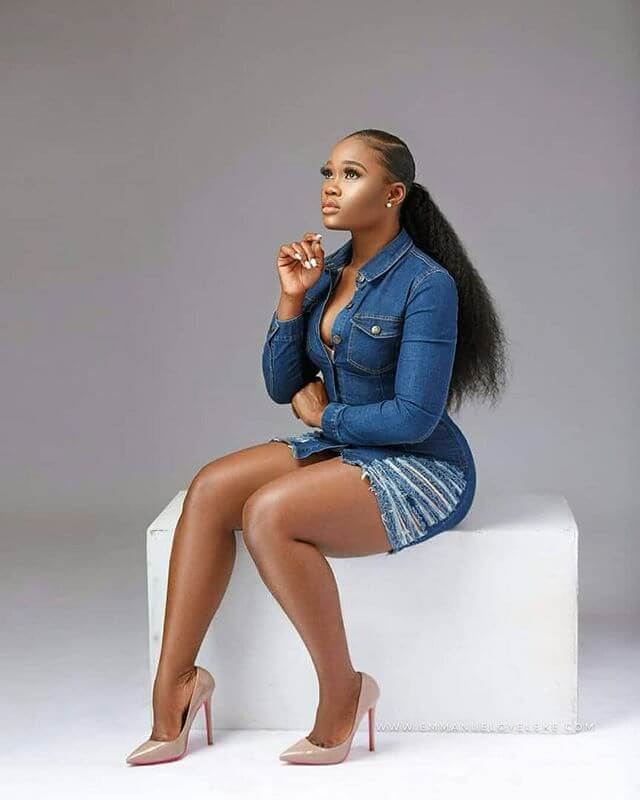Cee-C was visibly upset by the incident
