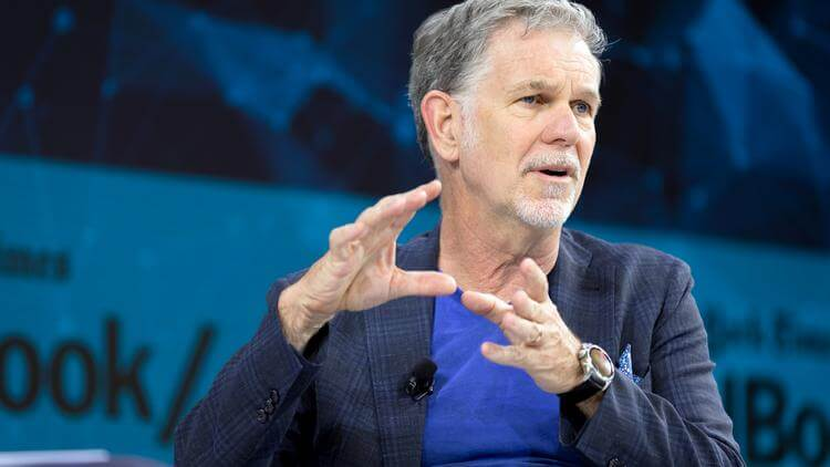 Netflix CEO Reed Hastings says a momentous change could be ahead of us