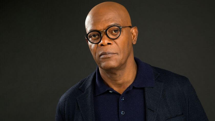 Samuel L. Jackson comes in second on the list