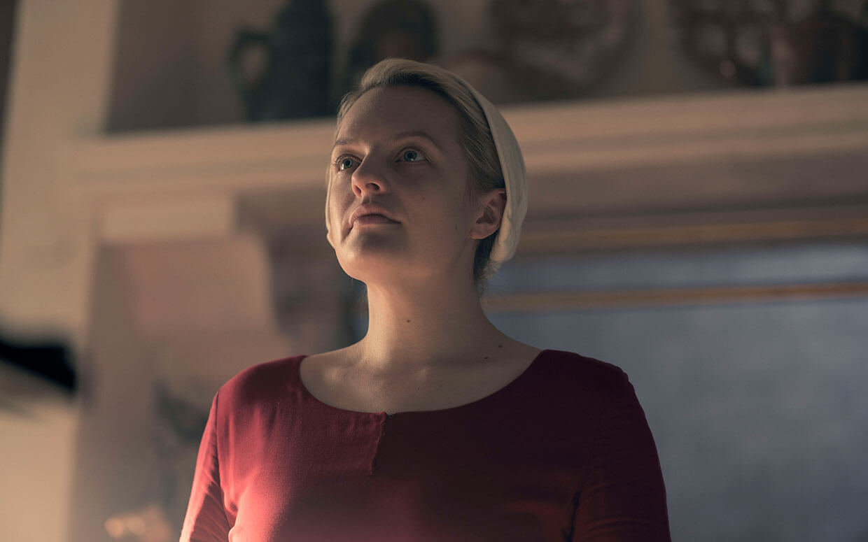 Moss in THE HANDMAID'S TALE