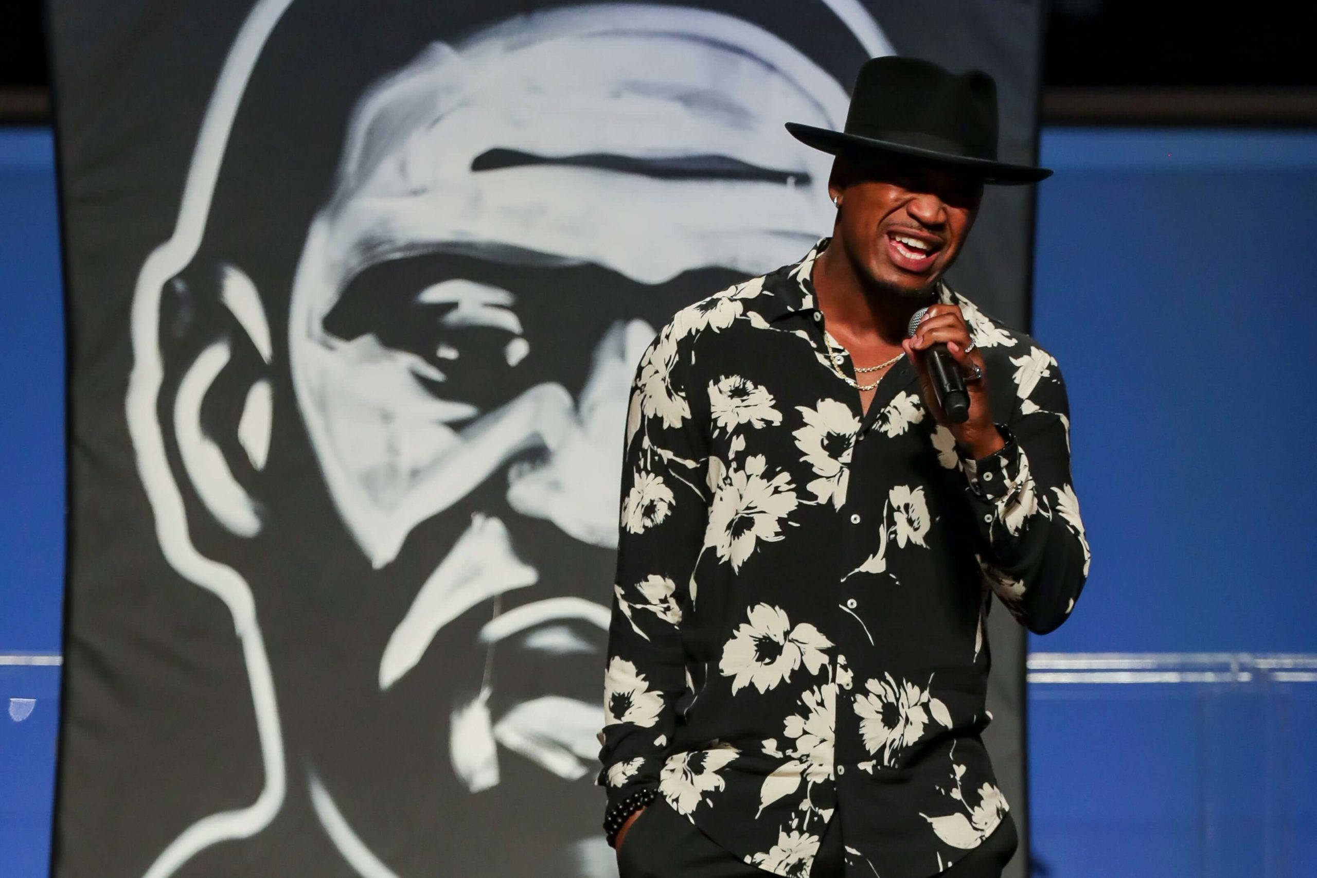 Ne-Yo was cheered on by the audience when he got emotional/Photo Credit: Getty Images