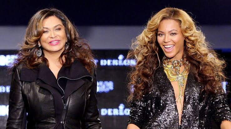 Tina Knowles Lawson and her daughter Beyoncé