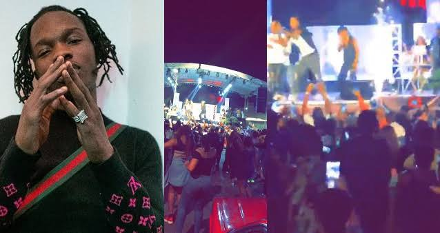 Despite COVID-19 Restrictions, Naira Marley Holds Packed Concert In Abuja [WATCH VIDEO]