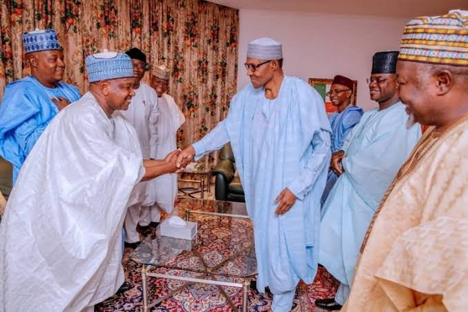 Buhari Meets APC Governors Over Parry's Crisis
