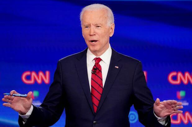 Joe Biden's recorded message will be played at the funeral