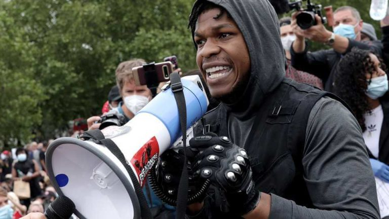 John Boyega Gets Backing From His 'Star Wars' Family After Black Lives Matter Protest