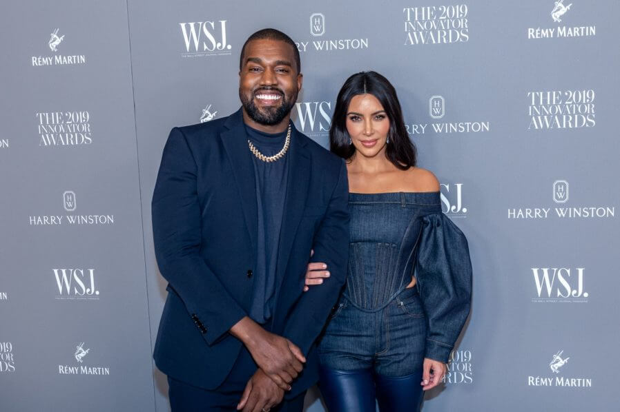 Kanye West and Kim Kardashian got married in 2014