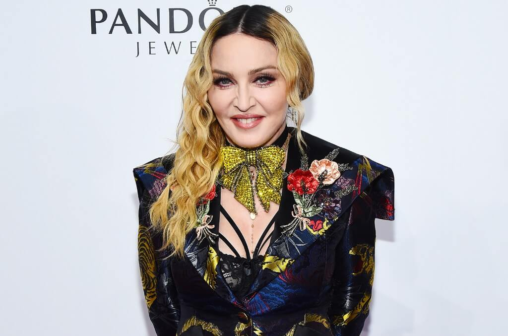 Madonna is a supporter of the Black Lives Matter movement