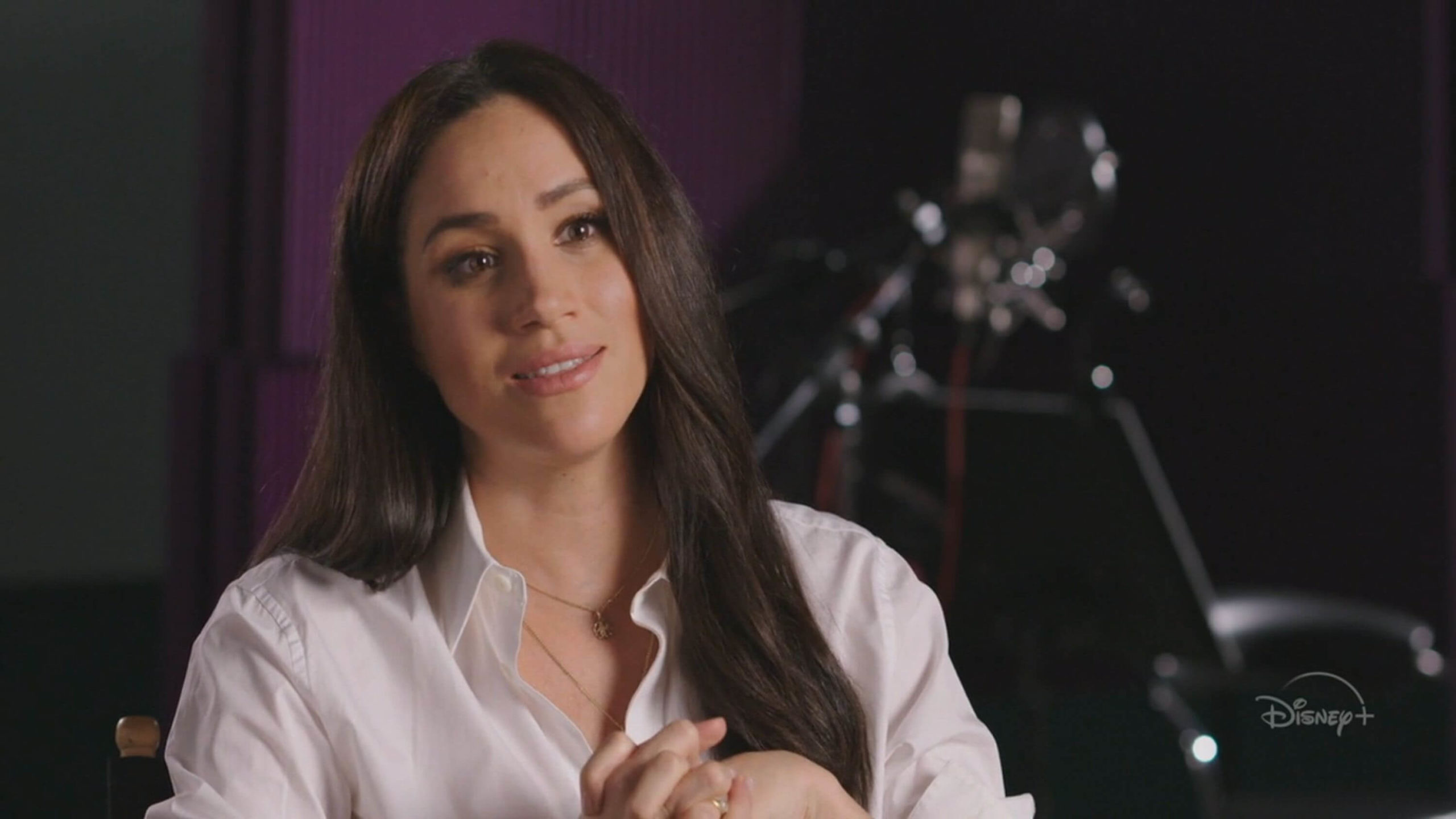 Meghan Markle said it was difficult to let them know how she felt about George Floyd's death