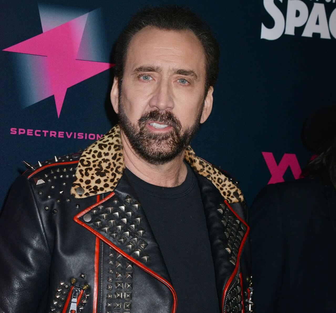 Nicolas Cage tops the list which includes some of Hollywood's biggest names