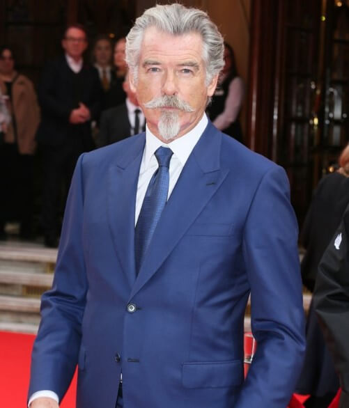 Pierce Brosnan is known for portraying the British spy James Bond