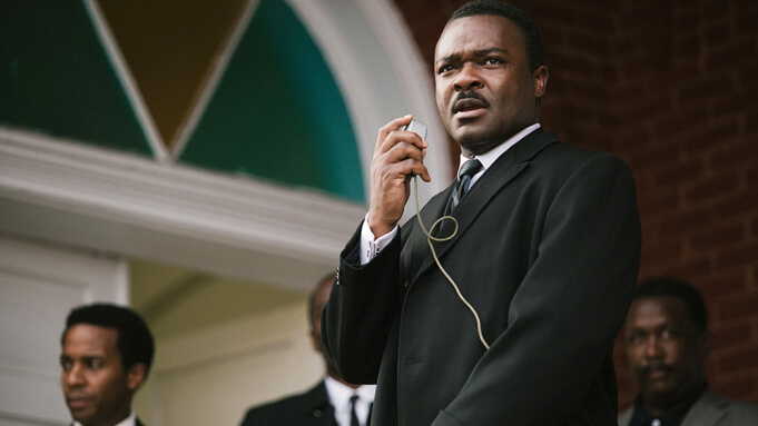 Oyelowo as Martin Luther King Jr. in the movie SELMA